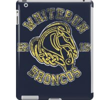 Whiterun Broncos - Skyrim - Football Jersey iPad Case/Skin