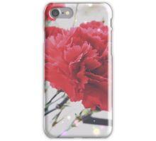 Carnation Sparkle iPhone Case/Skin