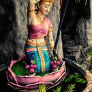Temple Lady Statue by Adrian Evans