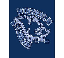 Windhelm Wildbears - Skyrim - Football Jersey Photographic Print