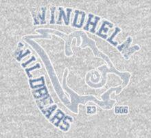 Windhelm Wildbears - Skyrim - Football Jersey One Piece - Long Sleeve