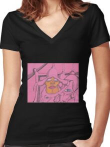 that would do it Women's Fitted V-Neck T-Shirt