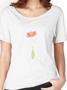 Spring poppies pattern 001 Women's Relaxed Fit T-Shirt
