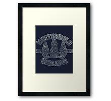 Winterhold Warlocks - Skyrim - Football Jersey Framed Print