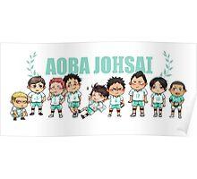 Aoba Johsai chibis Poster