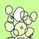 Random Cells (Green Version)  by Andy Mercer