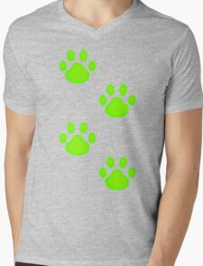 Chat was Here Mens V-Neck T-Shirt