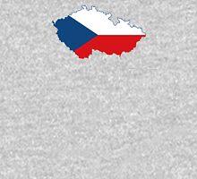 Flag Map of Czech Republic Unisex T-Shirt