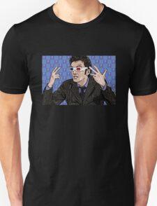 Tardis Tennant ThreeDee Ten T-Shirt