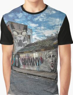 Street art near Old Street, London Graphic T-Shirt