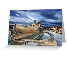 The Guggenheim Museum - Bilbao Greeting Card
