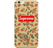 Supreme Camo  iPhone Case/Skin