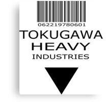 MGS - Tokugawa Heavy Industries Canvas Print