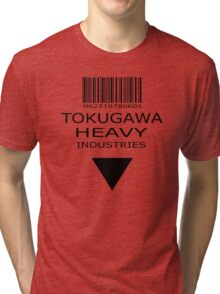 MGS - Tokugawa Heavy Industries Tri-blend T-Shirt
