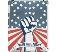Road Rage Artist Made In Usa funny car drive design iPad Case/Skin