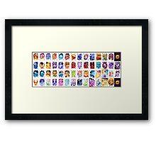 Legendary Poker Deck Framed Print