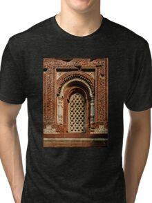Kutab Minar Detail 1 Tri-blend T-Shirt