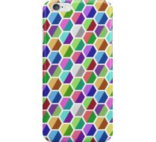 Colored Hexagons [Full] iPhone Case/Skin