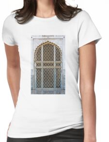 Marble Doorway Womens Fitted T-Shirt