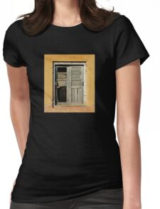 Ancient Doorway Womens Fitted T-Shirt