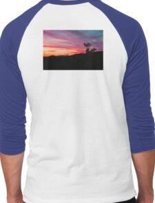 When Heaven Paints The Sky Men's Baseball ¾ T-Shirt
