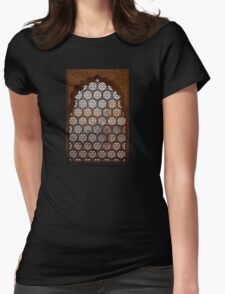 Marble Viewport Womens Fitted T-Shirt