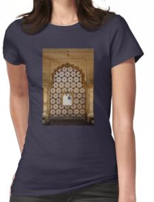Amber Viewport Womens Fitted T-Shirt