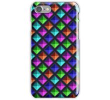 Multicolored Gems [Inverted] iPhone Case/Skin