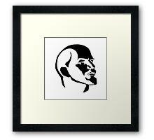 Lenin portrait  Framed Print