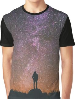 Clear Night Sky Graphic T-Shirt