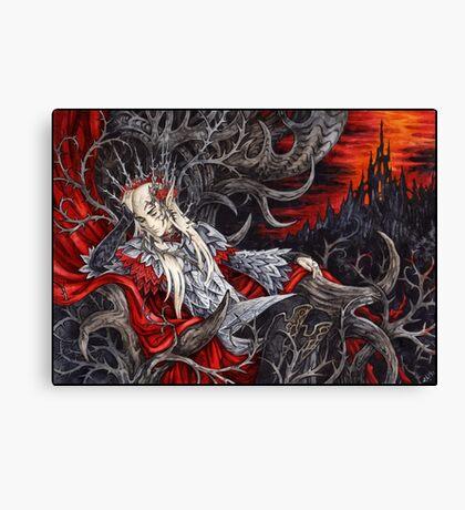 Heavy crown Canvas Print