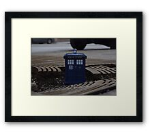 Hard Landing Framed Print