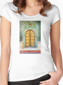City Palace Door Women's Fitted Scoop T-Shirt