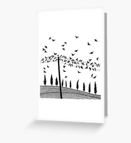 Toscana Greeting Card