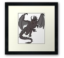 SHADOW DRAGON - DUNGEONS AND DRAGONS Framed Print