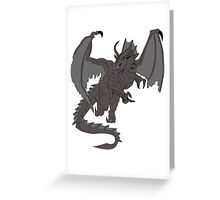 SHADOW DRAGON - DUNGEONS AND DRAGONS Greeting Card