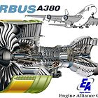 Airbus A 380 GP7000 Engine by DrTigrou