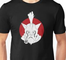 white lucy in the red moon Unisex T-Shirt