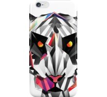 Tiger geometric drawing iPhone Case/Skin