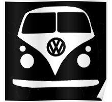 Volkswagen Van Vintage Poster