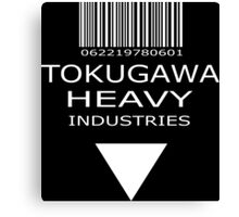 MGS - Tokugawa Heavy Industries - Black Canvas Print