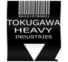 MGS - Tokugawa Heavy Industries - Black Poster