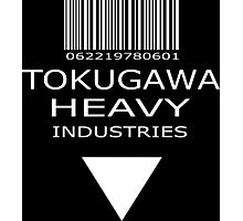MGS - Tokugawa Heavy Industries - Black Photographic Print
