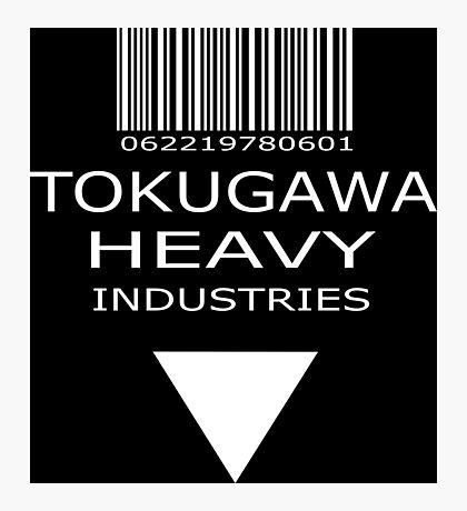 MGS - Tokugawa Heavy Industries - Black Photographic Print