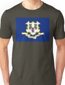 Connecticut state flag Unisex T-Shirt
