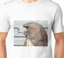 Melanistic Red Tailed Hawk Unisex T-Shirt