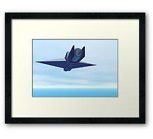 The Equalizer Fighter Ship Framed Print