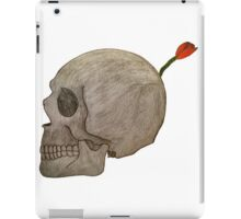 Betrayal-A skull Bomb with a flower fuse iPad Case/Skin