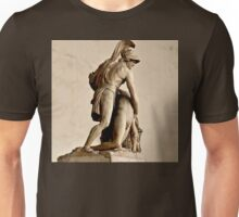 MENELAUS SUPPORTING THE BODY OF PATROCLUS  Unisex T-Shirt