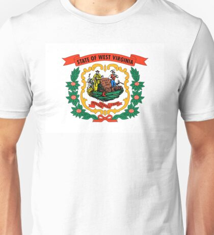 West Virginia state coat of arms Unisex T-Shirt